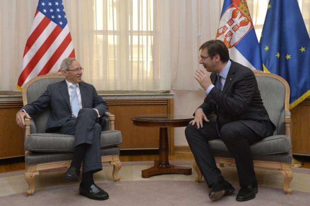 UOČI POSETE VAŠINGTONU: Vučić razgovarao s Kirbijem