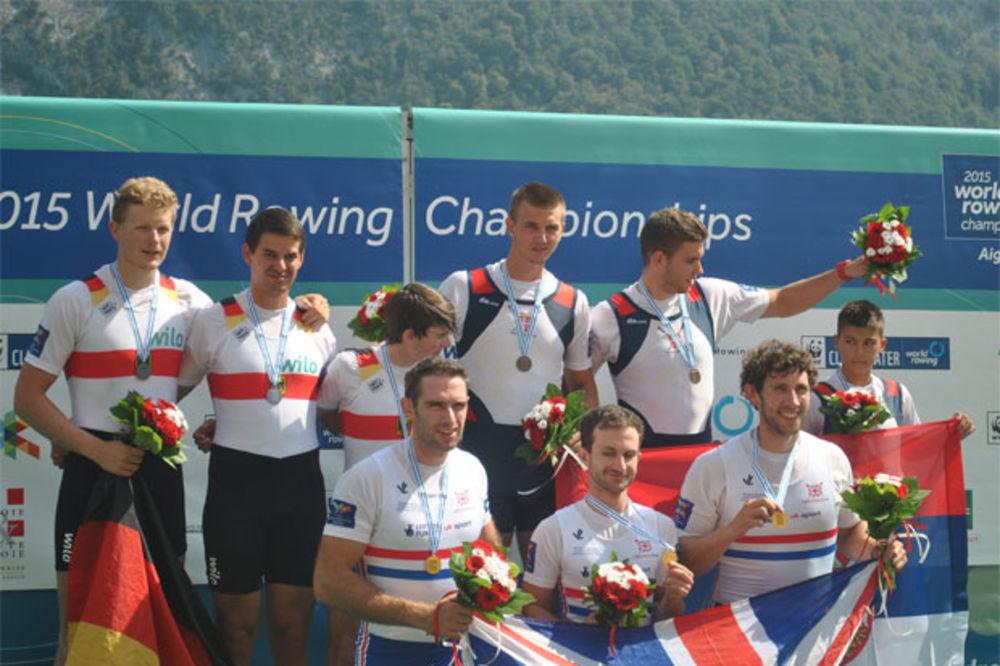 BRAVO MOMCI: Srpski veslači osvojili dve bronze na SP u Francuskoj