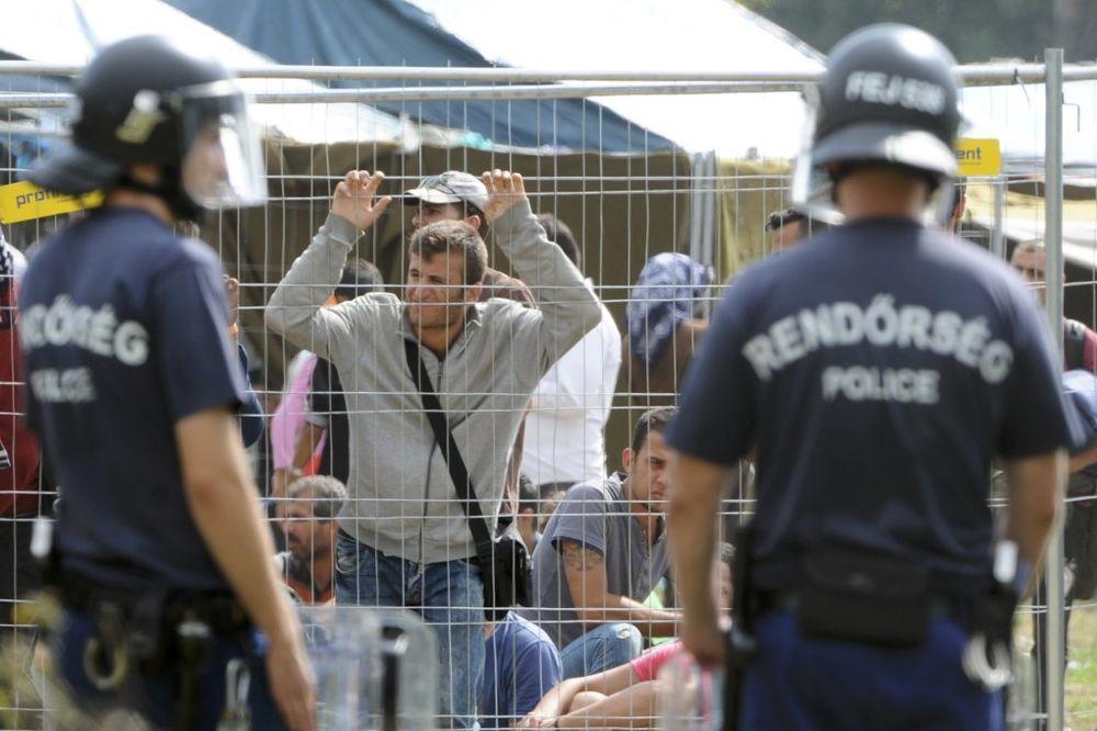 SREĆNICI: Kolona autobusa sa migrantima krenula iz Budimpešte