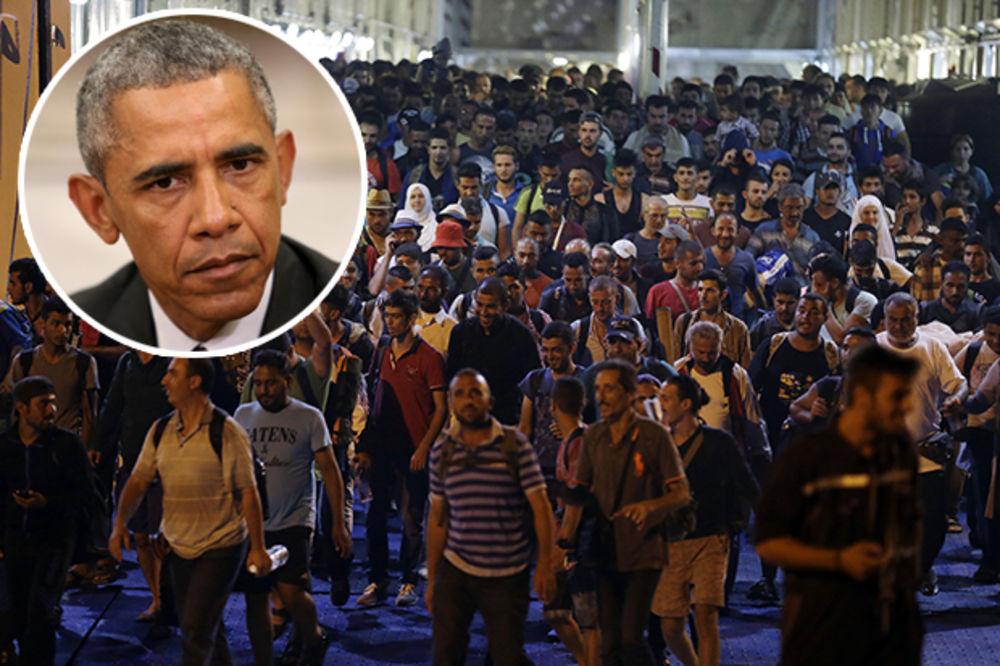 EVROPA GRCA, OBAMA ĆUTI: Sjedinjene Države će primiti samo 1.800 izbeglica iz Sirije!