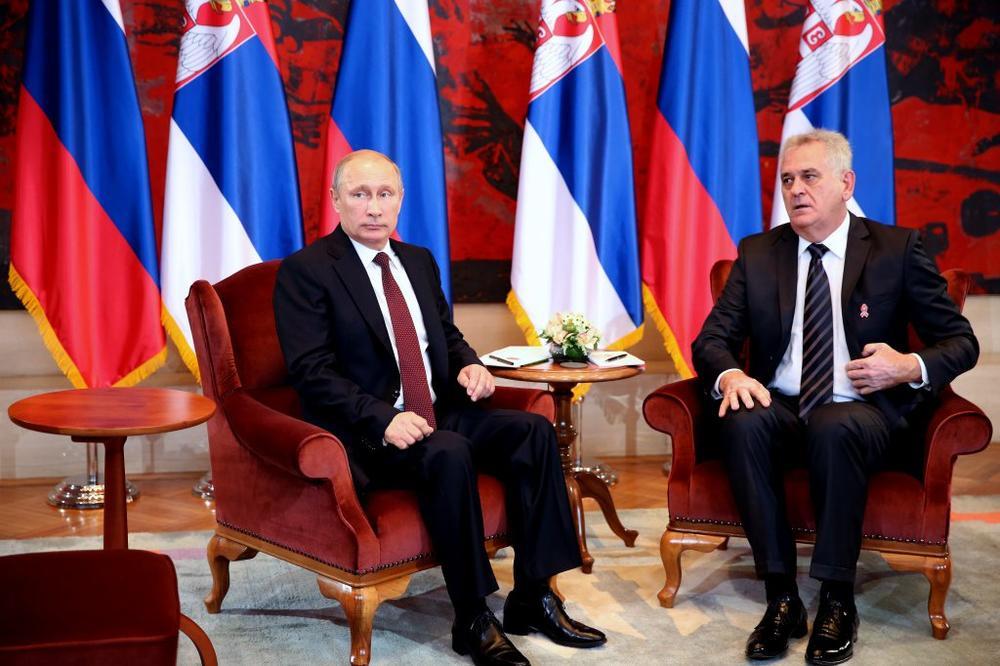 U RUSIJU PO NAGRADU: Nikolić 9. marta u Moskvi, s Putinom i patrijarhom