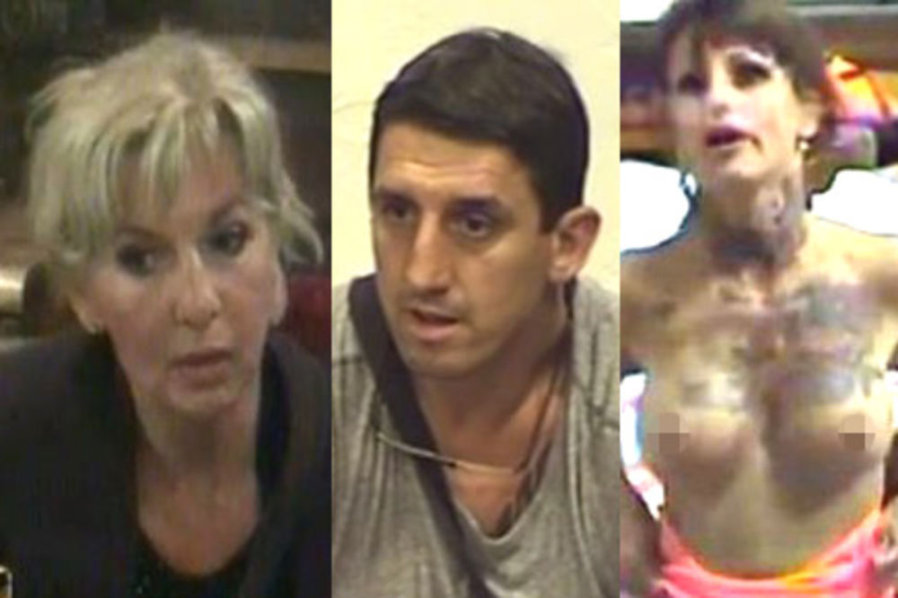 Jasmina Medenica, Kristijan Golubović, Jelena Krunić, foto printskrin