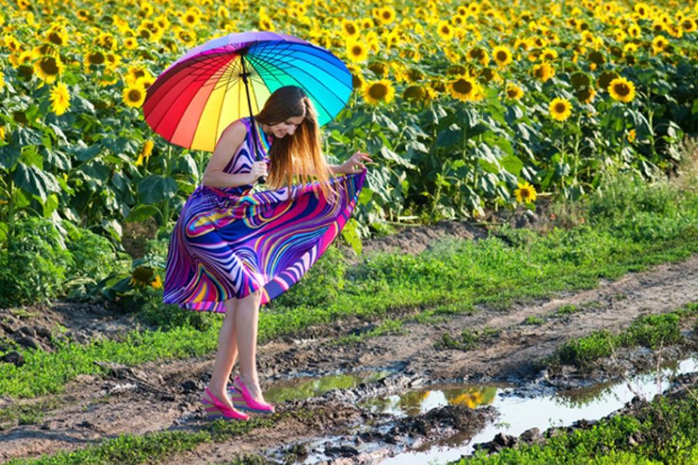 PONESITE KIŠOBRANE Danas oblačno, malo svežije, mogući pljuskovi
