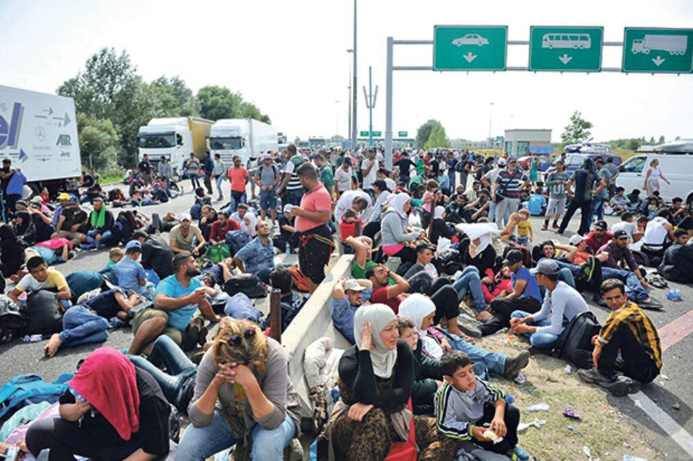 U Horgoš ponovo stižu migranti