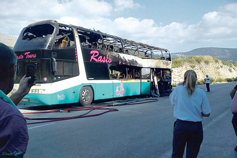 Uništen... Troja vatrogasna kola gasila požar