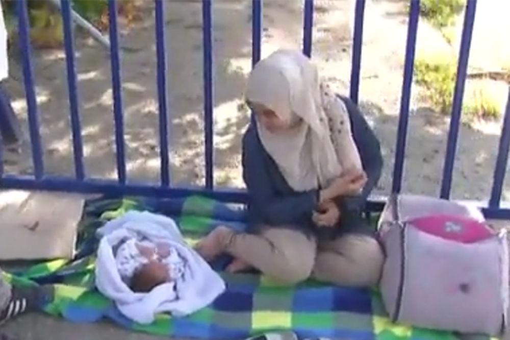 DRAMA KOD ZAJEČARA: Vojska pronašla tek porođenu migrantkinju sa bebom!