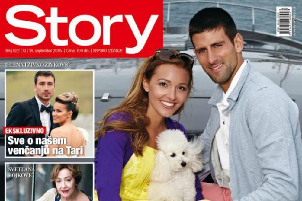 NOVI STORY: Jelena i Novak Đoković spremaju veliko slavlje