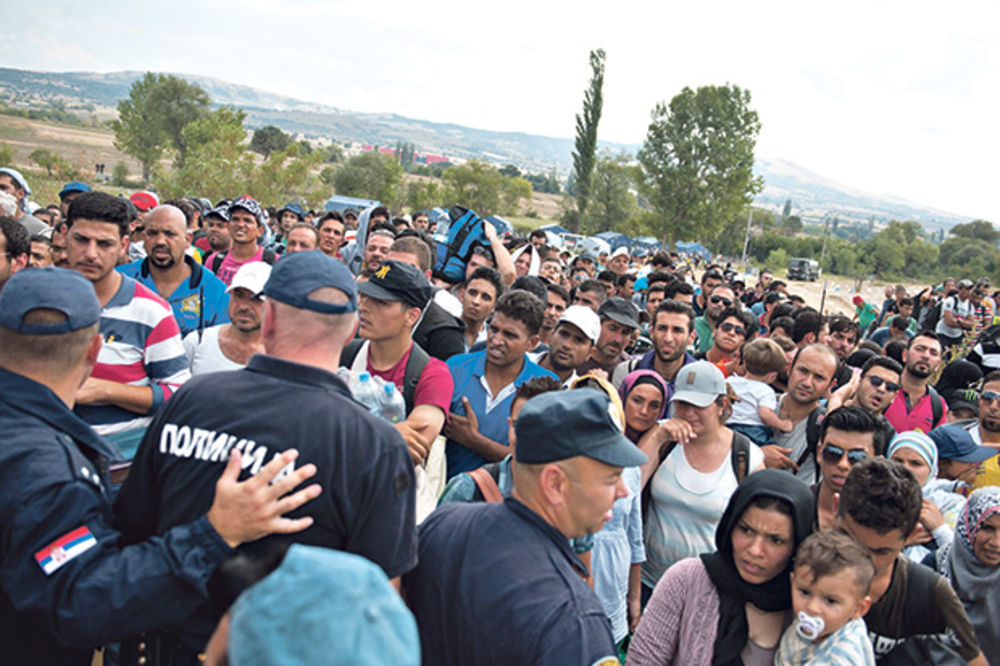 Srbija, EU, migranti, izbeglice, azil, foto dado đilas