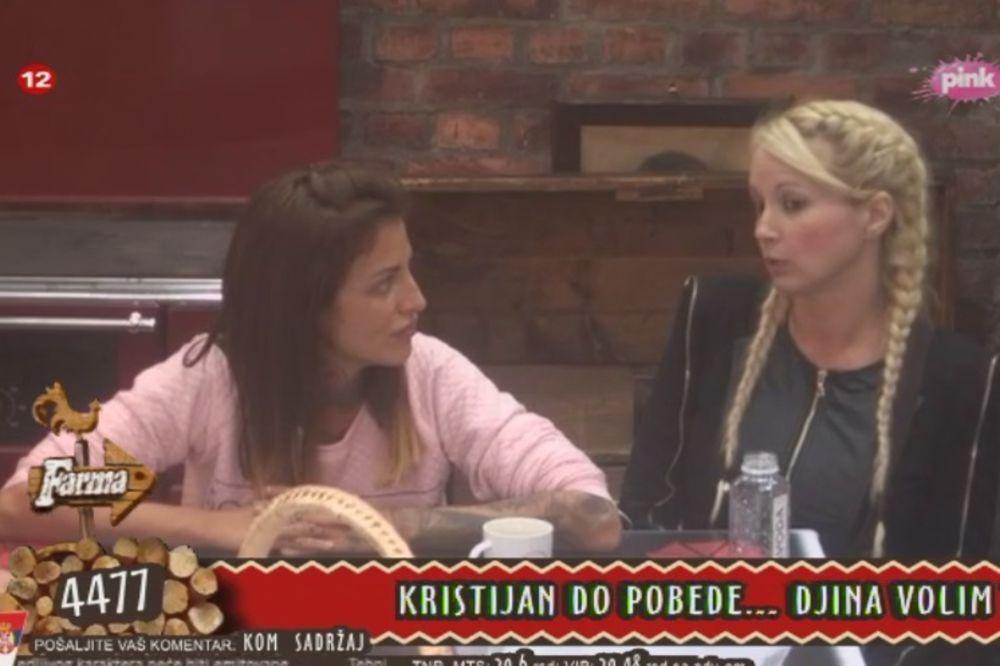 Jelena Krunić, Maja Nikolić, foto printskrin