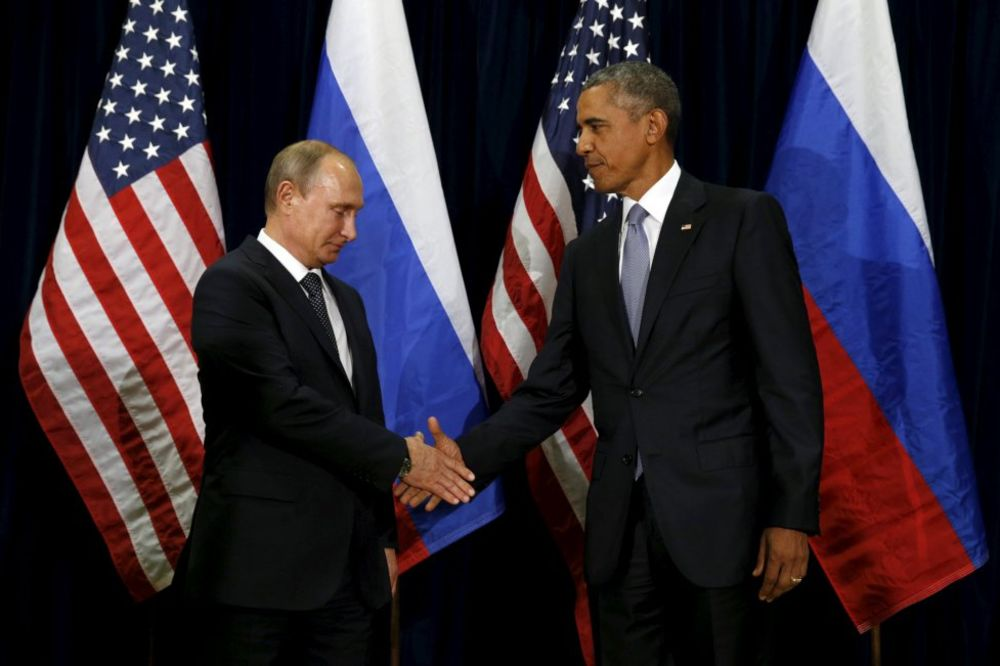 VAŠINGTON I MOSKVA NA VEZI: Obama rekao Putinu da prekine napade protiv sirijske opozicije