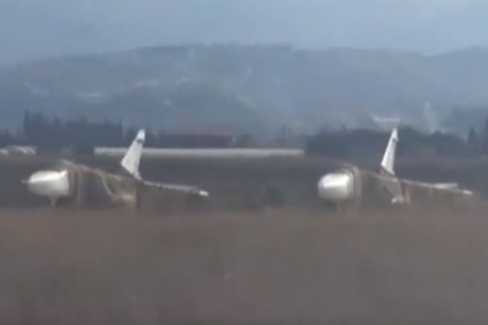 Ruski avioni u Siriji foto Youtube
