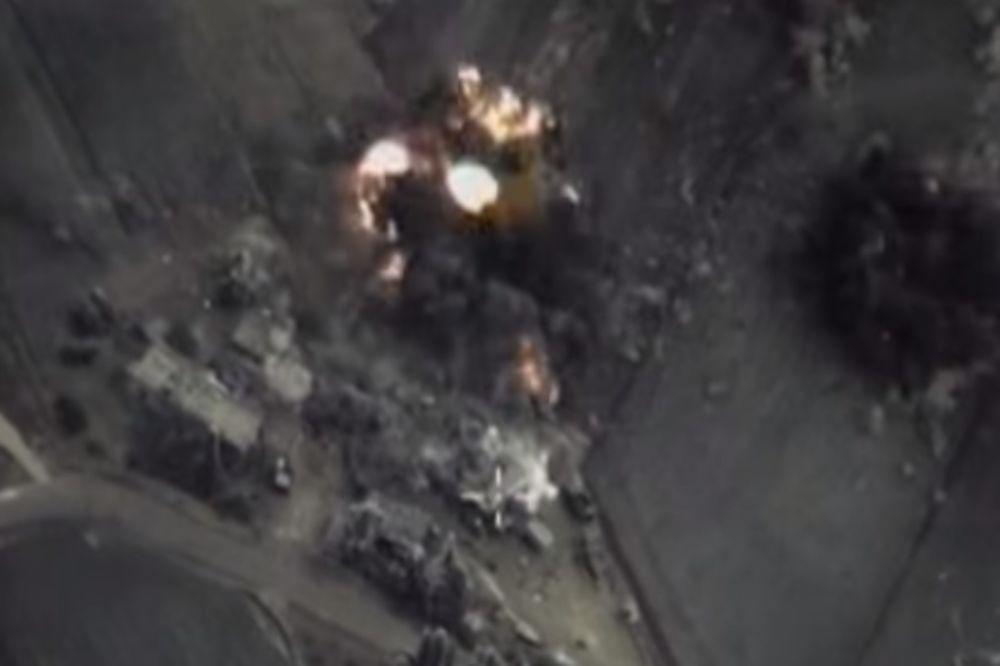 VAZDUŠNI UDARI NA PRESTONICU ISLAMISTA: Poginulo 25 civila, od čega 6 dece!
