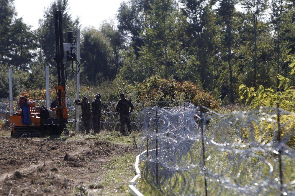 HAOS NA SRPSKO-MAĐARSKOJ GRANICI: Migranti seku ogradu na Horgošu