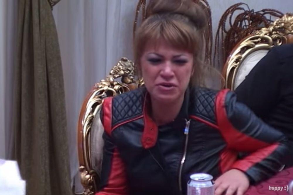 (VIDEO) MILJANA PRED NERVNIM SLOMOM: Vrištala i gušila se u suzama, pogledajte i zašto