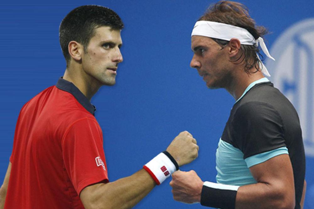 SPEKTAKL KOD PIRAMIDA: Đoković i Nadal igraju u Egiptu!