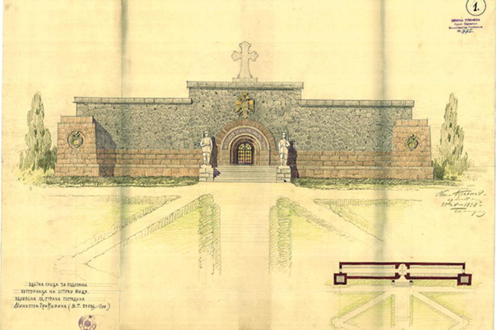 Ovako je zamišljen mauzolej... Projekat arhitekte Krasnova