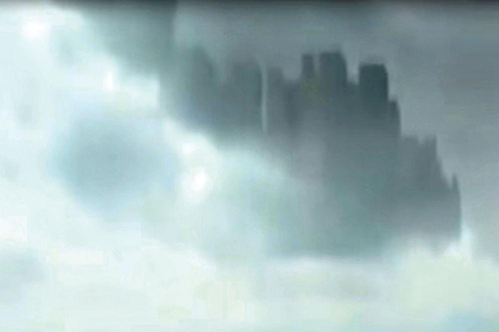(VIDEO) Grad na oblacima nova obmana Iluminata ili portal ka drugom svetu?