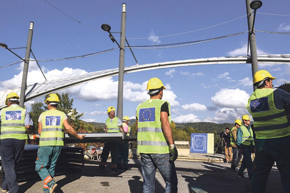 Počela obnova mosta na Ibru