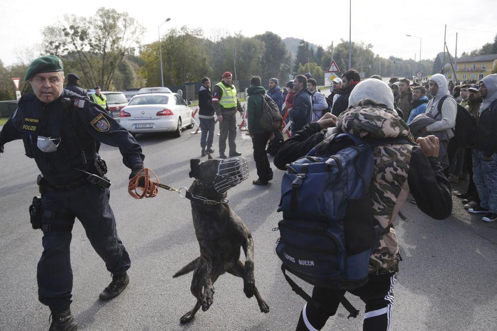 STIGLA ISPOMOĆ: I austrijski policajci kontrolišu mađarsko-srpsku granicu!