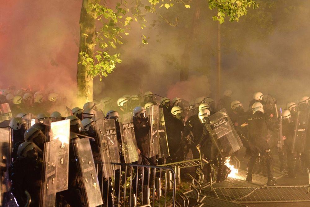 TRAŽE ODŠTETU ZBOG PROTESTA: Podgorica od DF zahteva 65.000 evra!