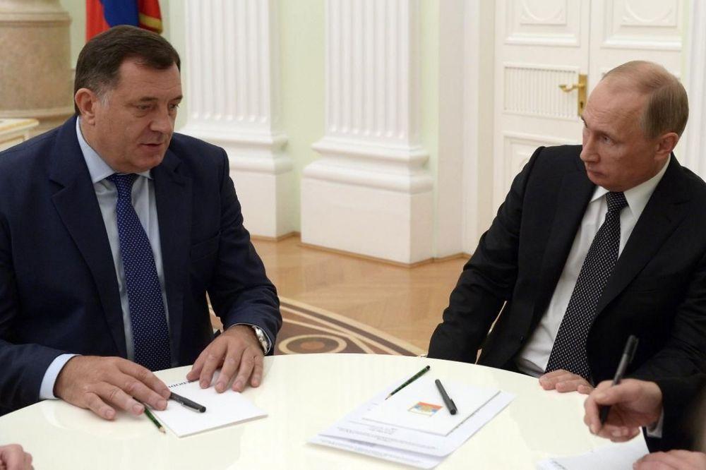 DODIK: Ni Putin ne može da promeni odluku o referendumu