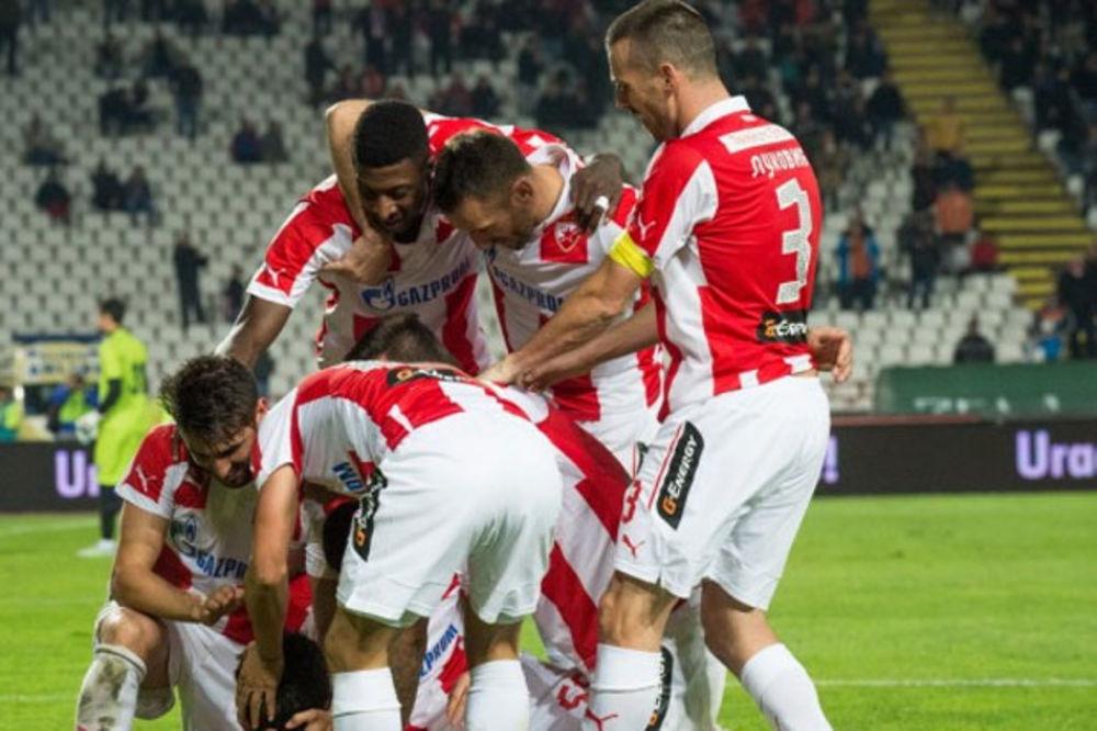 (FOTO) CRVENO-BELI INSTAGRAM: Ovako fudbaleri Zvezde slave titulu!