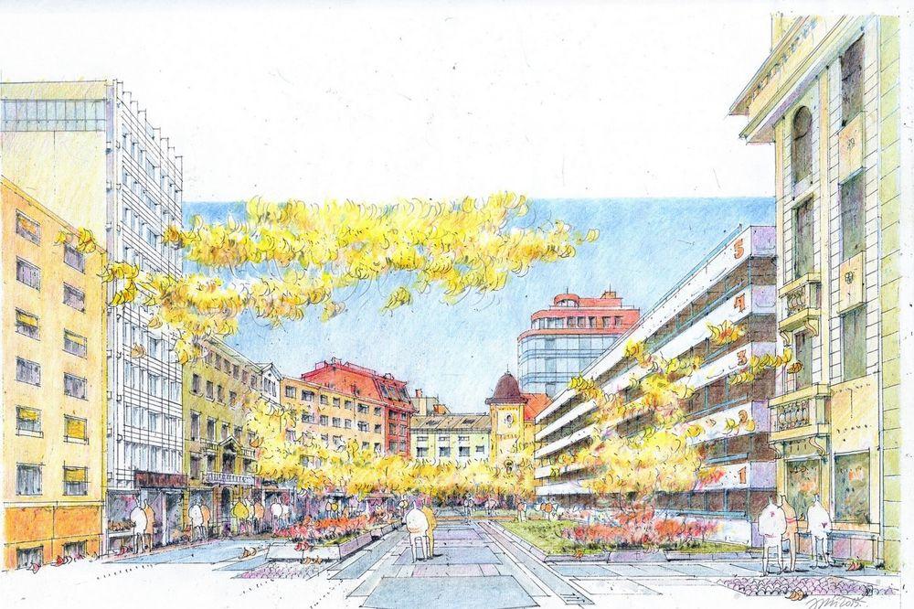 NA REDU JE OBILIĆEV VENAC: I ovde će biti pešačka zona, radovi počinju u septembru