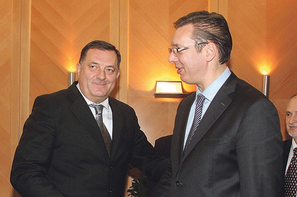 SASTANAK U VLADI SRBIJE: Vučić danas sa Dodikom
