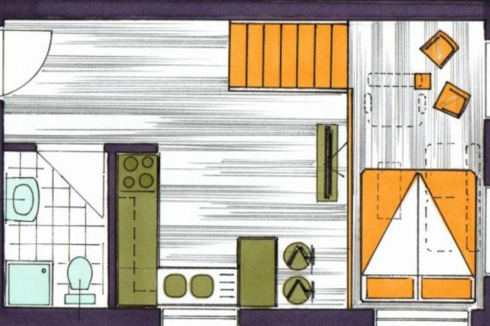 ARHITEKTA SAVETUJE: Evo kako da najbolje uredite stan od 38 kvadrata  Zabava...
