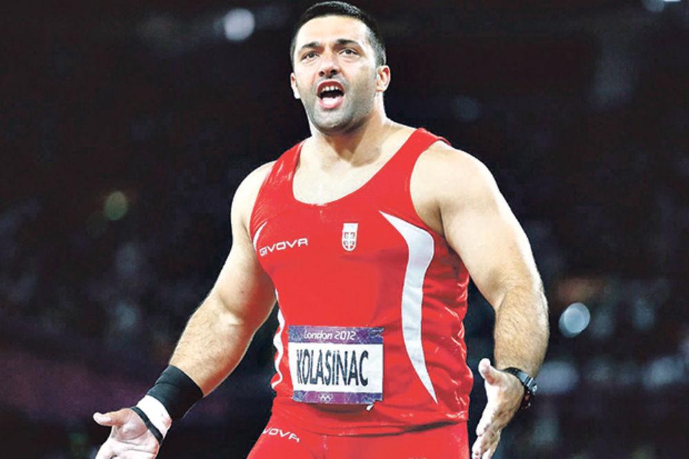 PRESUDIO PETI HITAC: Kolašinac sa 20,74 metara pobedio u Slovenskoj Bistrici