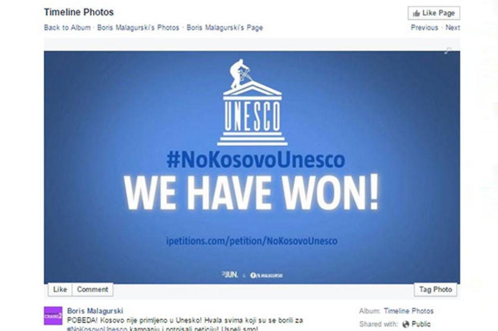 (VIDEO) UNESKO SEDNICA: Pobeda! Kosovo nije primljeno u Unesko!