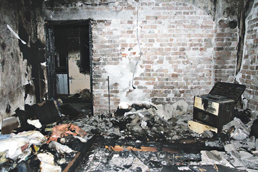 Paljevina... Starica skroz izgorela u kući