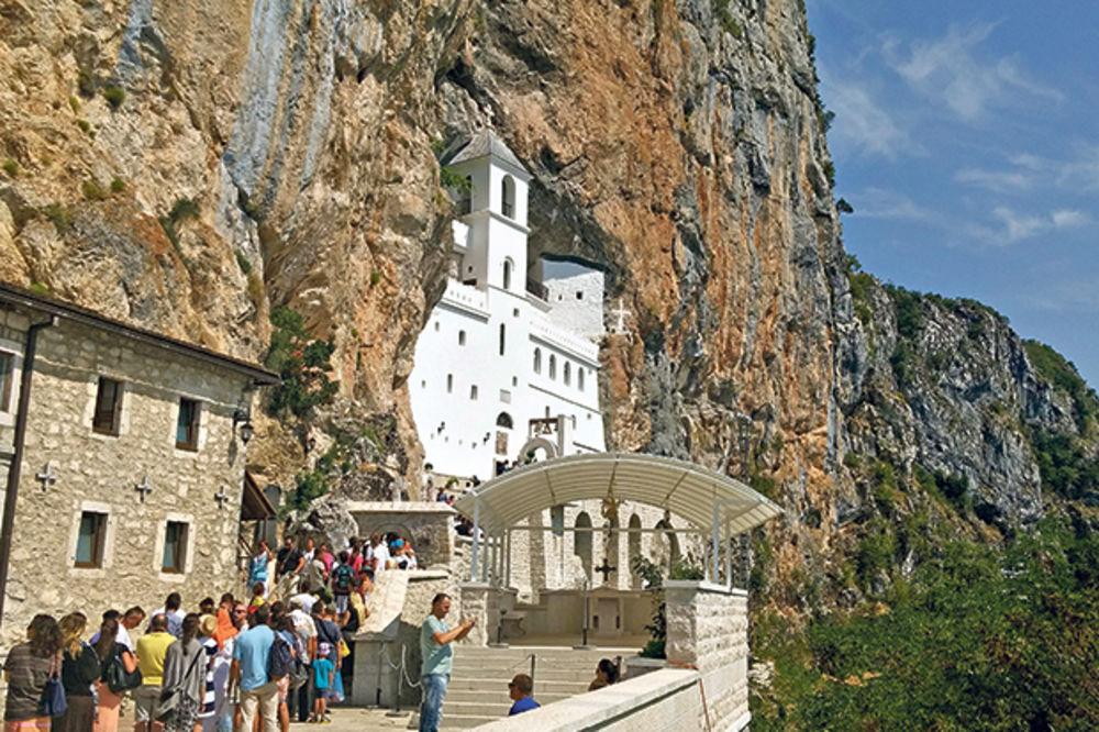 Mesto hodošašća... Manastir Ostrog