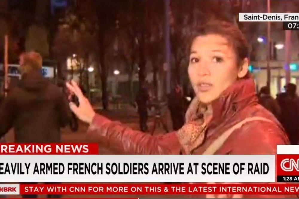 (VIDEO) BOMBE UŽIVO: Novinarka brojala eksplozije tokom uključenja u program!