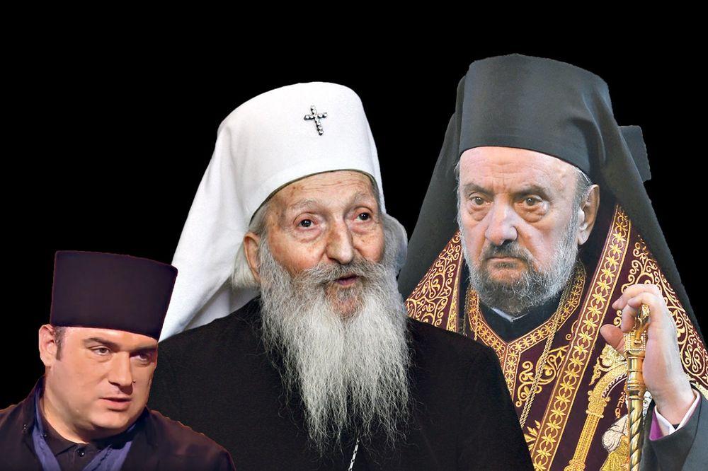 BOLESNO: Vladika Kačavenda orgijao dok su sahranjivali patrijarha Pavla!