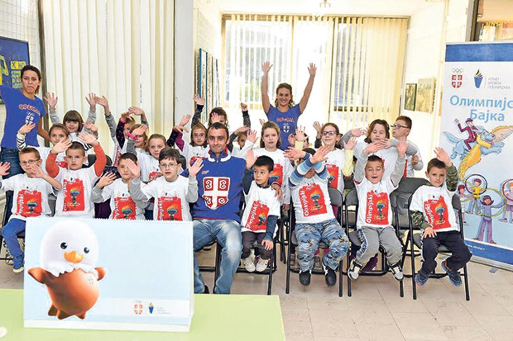 Predrag Filipović i neki novi olimpijci