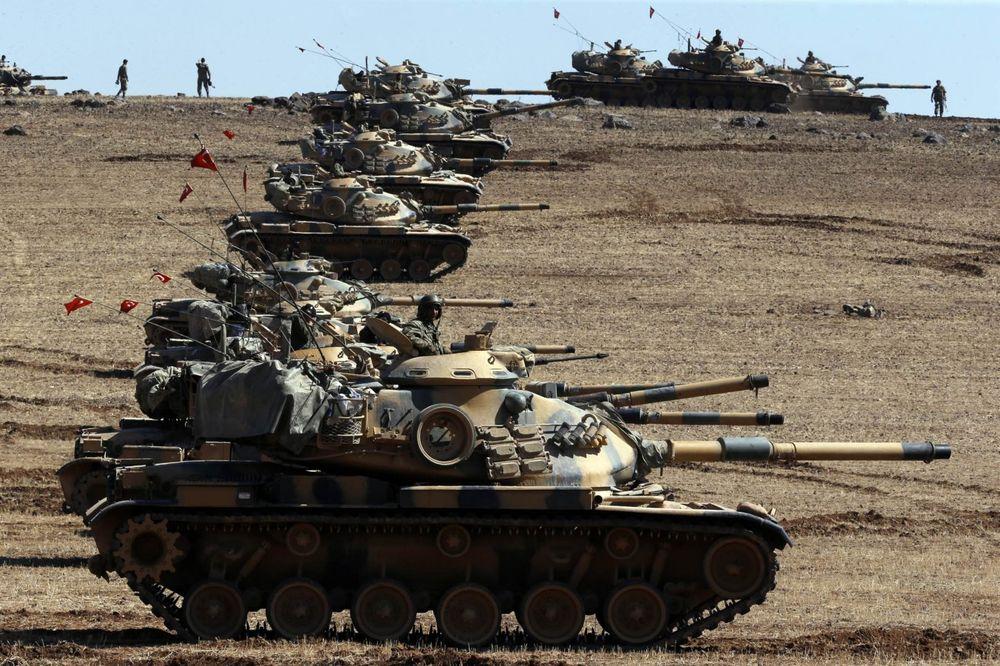POČELO ŽESTOKO GRANATIRANJE: Turska vojska udarila na Kurde i džihadiste u Siriji!