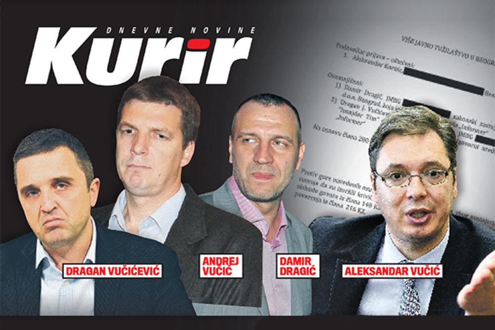Vesti - KRIVIČNA PRIJAVA ZBOG IZNUDE I PODSTREKAVANJA: Vučićević i Vučić me terali da lažno optužim Rodića!