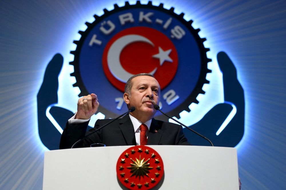 Redžep Tajip Erdogan, 03.12.2015, Foto Reuters