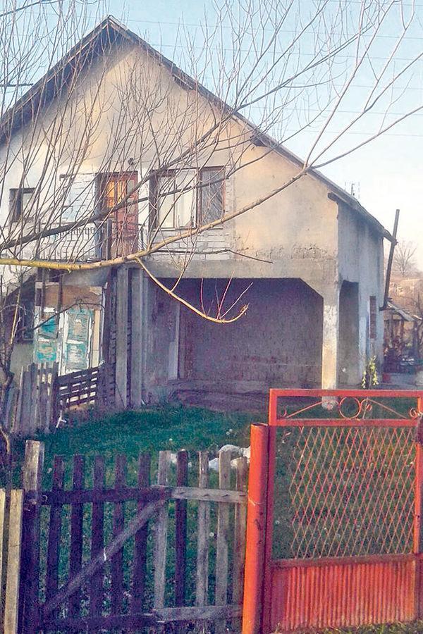Mesto napada... Kuća porodice Jovanović