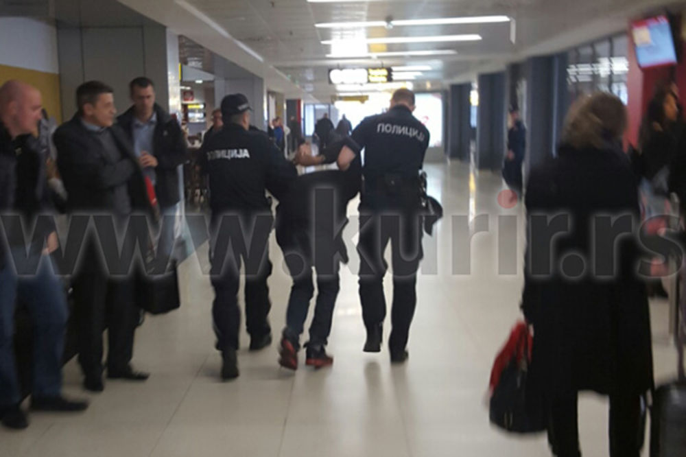 Jordanac, hapšenje, napad, avion, Lufthanza, foto čitalac Kurira