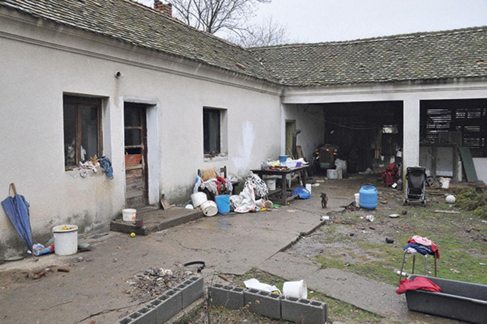 Nemaština... Porodična kuća u selu Zabrega