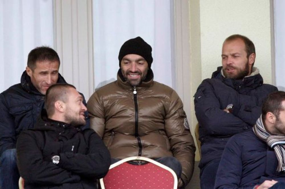 (FOTO) TOMIĆ UZ PARTIZAN NA BANJICI: Drulovićev naslednik skenirao crno-bele?