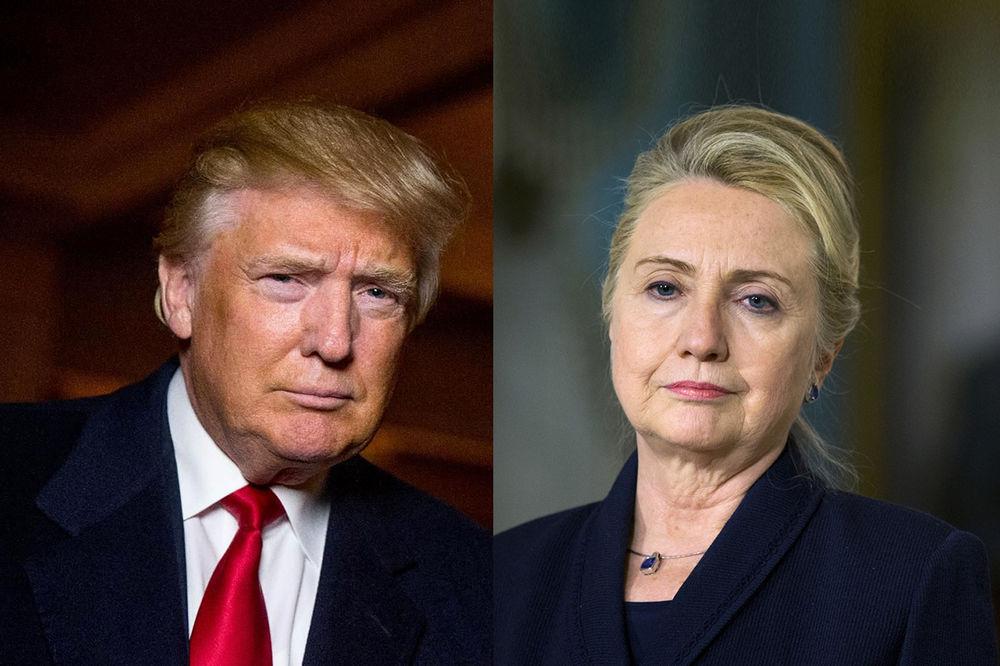 TRAMP PRETEKAO HILARI: Milijarder poveo protiv Klintonove!