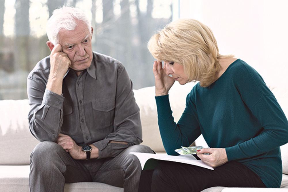 PUSTA OBEĆANJA: Rast evra već pojeo povišice penzionerima