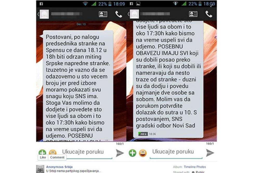 FACEBOOK ZAGLUPLJUJE -biseri sa Facebooka  - Page 8 Poruka-sns-miting-poziv-novi-sad-foto-facebook-1450273330-805549