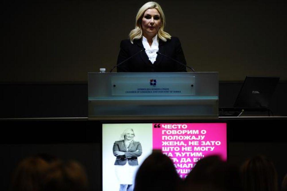 Zorana Mihajlović, Zakon o rodnoj ravnopravnosti, Foto TANJUG - Oksana Toskić