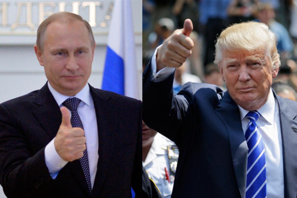 TRAMP OTKRIO PLANOVE: Možda se sastanem sa Putinom pre početka rada moje vlade!