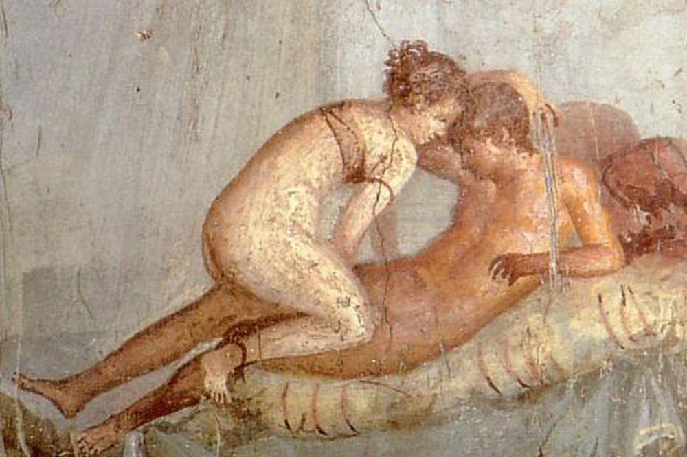 Erotske freske u Pompeji, Foto: Wikipedia