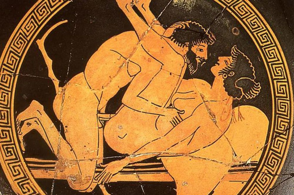 Starogrčka erotska umetnost na grnčariji, Foto: Wikipedia
